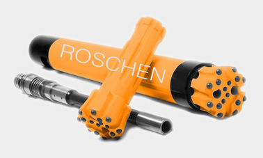 "Drilling Reverse Circulation Hammer 4"" 5"" 6"" RC Button Bits Drilling In Geological Formations"