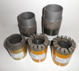 Diamond Impregnated Drill Bits for Conventional Mineral Core Drilling